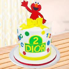 Sesame Street Elmo Cake Box Of Cake