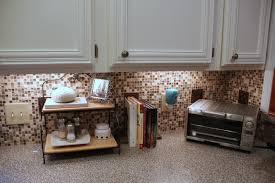 Stick On Backsplash For Kitchen Comcreative Peel And Stick Wall Tiles