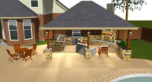 Elegant Outdoor Covered Patio Images About Outdoor Kitchens On