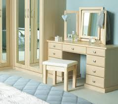 Bedroom Simple White Vanity Set Ikea With Beautiful Light Mirror