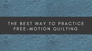 Free Motion Quilting Patterns
