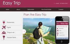 Easy Website Templates Simple Easy Trip Web And Mobile Website Template For Free By W28layouts