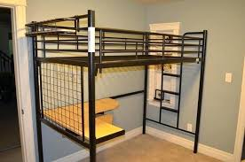 bunk bed with desk ikea. Ikea Loft Bed Bunk With Desk Full
