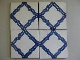 Blue And White Decorative Tiles Reeso Tiles 100PW100 Talavera Decorative Tile on Pure White 93