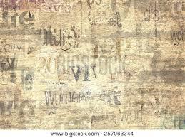 Newsprint Texture Background Old Grunge Newspaper Paper Textured Horizontal Background