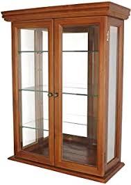 + acme northville curio cabinet in antique silver. Display Curio Cabinets Amazon Com