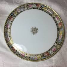 Nippon Patterns 1911 To 1921 Best Vintage RC Nippon Handpainted Pink Yellow And Blue Floral Mosaic
