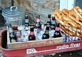 How to DIY a Backyard Beer Garden Party for Oktoberfest - Outdoor Party  Ideas