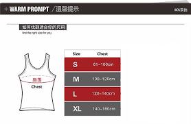 Slim N Lift Slimming Vest For Men Large