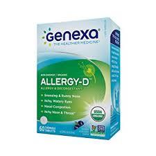 Amazon.com: Genexa Homeopathic Allergy Medicine: Certified Organic ...