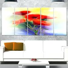 poppy metal wall art red poppy flowers modern floral glossy bright poppies metal wall art  on bright poppies metal wall art with poppy metal wall art amazing poppies wall art poppy metal decor