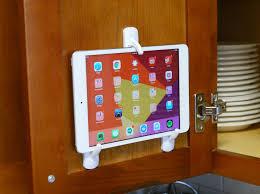 Kitchen Tablet Holder Mount A Tablet Inside Your Kitchen Cabinet For Easy Recipe Reading