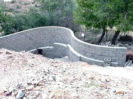 cost of concrete block wall retaining wall cost calculator building concrete block retaining wall retaining wall