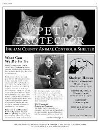 Image of: Michigans Fall 2010 Ingham County Animal Control 1007 Witl Ingham County Animal Control Ordinance