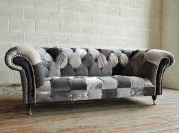 Ghost Walton Patchwork Chesterfield Sofa Abode Sofas