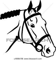 horse head clipart. Fine Horse Animal English Horse Horse Head Breeds And Horse Head Clipart E