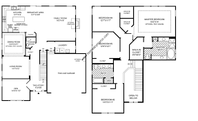 Uncategorized 4 Bedroom 2 Story Floor Plan Top Inside Fascinating