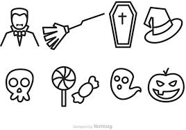 Halloween Cartoon Outline Wiring Diagrams