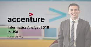 Accenture Informatics Analyst 2018 In Usa Youth Opportunities