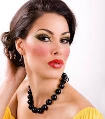 1950s makeup crystal sche by crystal sche beauty columnist 50s look