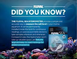 Fluval Sea Marine Reef 3 0 Spectrum Led Light Fixture Fluval Sea Hydrometer Did You Know