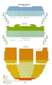 Ahmanson Theatre Seating Chart Theatre In La