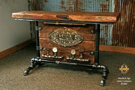 Steampunk Furniture Table Room Interior Design Australia 0