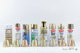 best spray paint for furnitureRemodelaholic  Friday Favorites Best Gold Spray Paint and