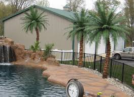 large artificial outdoor palm trees designs