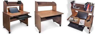 smartdesks ilid multi use home office desk with hutch
