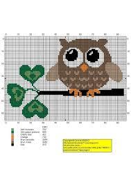Owl Cross Stitch Pattern Amazing Cute Free Owl Cross Stitch Pattern Link Not In English But Has Tons