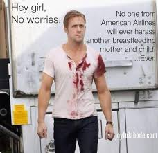 Joyful Abode Ryan Gosling breastfeeding meme. Stop the harassment ... via Relatably.com
