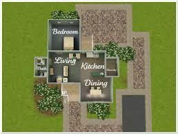 sims 3 floorplans lovely sims starter house plans floor plan exterior house plans