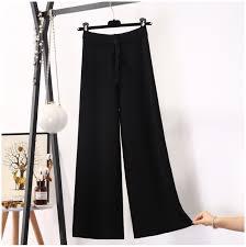 <b>2019</b> Winter Loose Thick Warm <b>Straight Pants</b> Women Drawstring ...