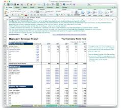Plan Financial Projections Template Excel Business Sample Analysis ...