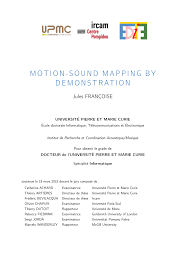 Tribute Speech Examplestraining Evaluation Form MotionSound Mapping by Demonstration PDF Download Available 1