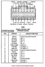 2005 ford mustang stereo wiring library wiring diagram Ford Stereo Wiring Harness at Ford Radio Wiring Harness Connectors