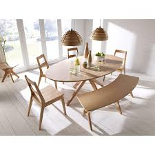 Buy Malmo Oak Oval Dining Set With Seating Dining Sets Fads