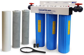 whole house water filter cartridge. 3 Stage 20in Sediment Filter Whole-House Water Whole House Cartridge