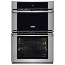 electrolux wave touch reg 30 wall oven and microwave combination with wave touch reg controls