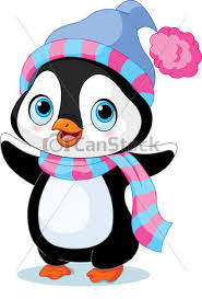 winter penguin clip art.  Clip Cute Winter Penguin  Csp17086113 In Winter Penguin Clip Art T