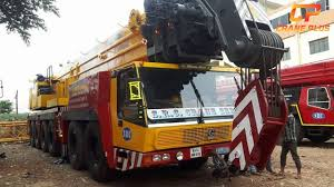 Grove Gmk 6200 Load Chart Krupp Gmk 6200 200 Tons Crane For Hire In Bangalore