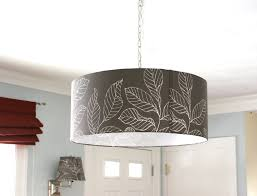 cool pendant drum light fixture on drum pendant light