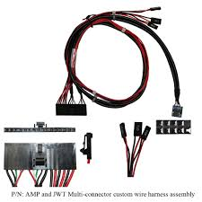 wire harness assemblies compatible cable inc amp and jwt multi connector custom wire harness assembly