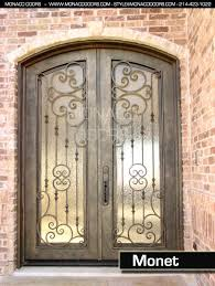 wrought iron front doorswrought iron front door wrought iron front doors  Monaco Doors
