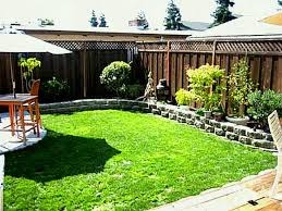 Cheap Landscaping Ideas Backyard Patio Decorating Diy Front Yard On