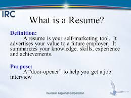 Definition Of Resume - 2017 Free Resume Builder - psycle.info