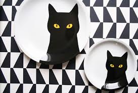 cat themed presents.  Presents Cat Plates Intended Themed Presents A