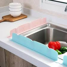 Sink Panda Prevent Water Splashing Guard Shield Pvc Kitchen