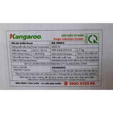 Bếp điện từ đơn Kangaroo KG20IH1 / KG20IH6 hoặc KG365i kèm nồi lẩu - Bảo  hành chính hãng 1 năm - Giảm giá 33% - Giá Sốc 24h